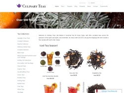 Culinary Teas promo code and other discount voucher