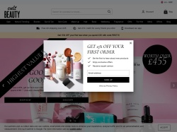 Cult Beauty UK promo code and other discount voucher