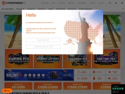 Cyberpower PC UK promo code and other discount voucher