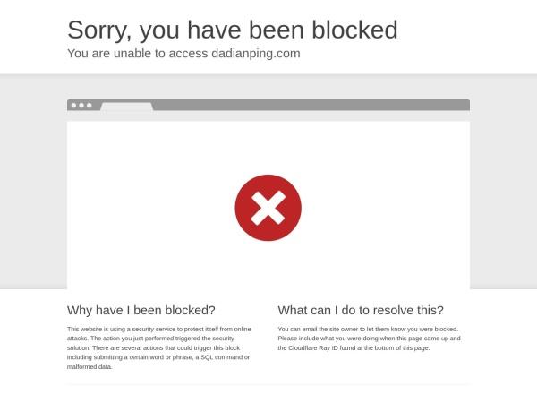 dadianping.com的网站截图