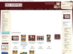 Decadence Gourmet Cheesecakes coupons