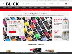 Blick promo code and other discount voucher