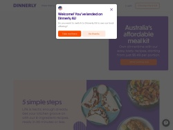 Dinnerly Australia promo code and other discount voucher
