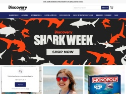 Discovery Channel Store promo code and other discount voucher