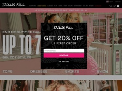 Dolls Kill promo code and other discount voucher