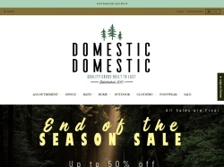 Domestic Domestic coupons