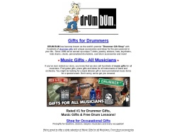 Drum Bum promo code and other discount voucher