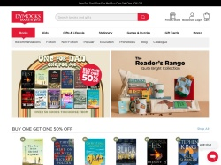 Dymocks Booksellers Australia promo code and other discount voucher