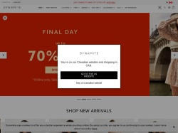 Dynamite promo code and other discount voucher