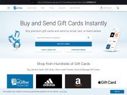 eGifter promo code and other discount voucher