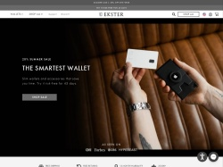 Ekster promo code and other discount voucher