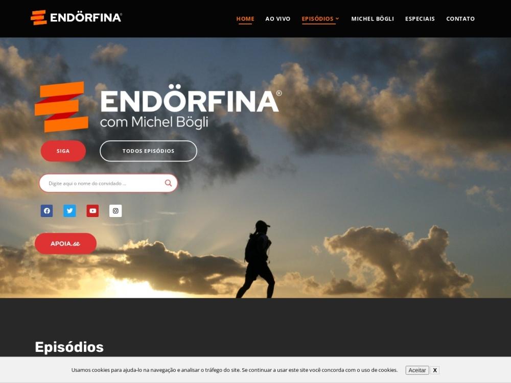 Endörfina Podcast com Michel Bögli