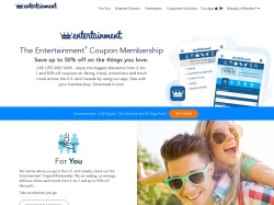 Entertainment.com promo code and other discount voucher