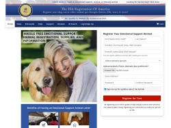 ESA Registration Of America promo code and other discount voucher