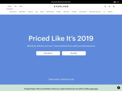Everlane promo code and other discount voucher