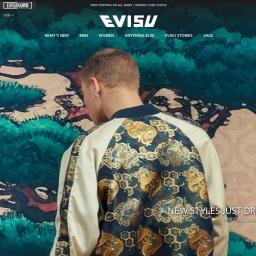 Evisu Official Site | Iconic Japanese Denim Brand | Designer Street wear