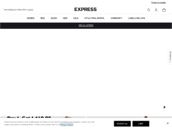 Express promo code and other discount voucher