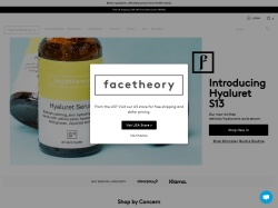 FaceTheory promo code and other discount voucher