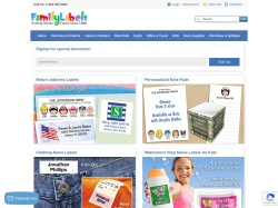 Family Labels promo code and other discount voucher