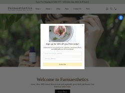 Farmaesthetics promo code and other discount voucher