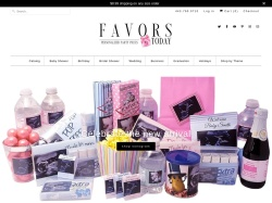 Favors Today coupons