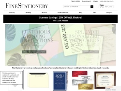 Fine Stationery promo code and other discount voucher