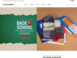 FoxRiver promo code and other discount voucher