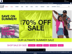 Gap UK promo code and other discount voucher
