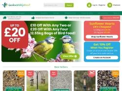 Garden Wildlife Direct promo code and other discount voucher