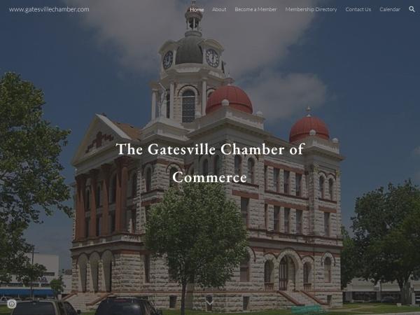 gatesvilletx.info website Скриншот Home | Gatesville Chamber of Commerce