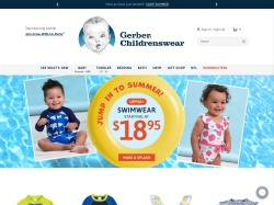 Gerber Childrenswear coupons