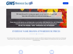 Giant Warehouse Sale coupons