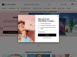 GLOSSYBOX promo code and other discount voucher
