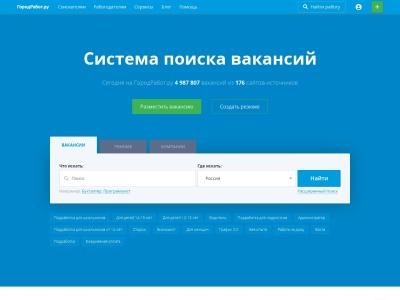 gorodrabot.ru SEO Report