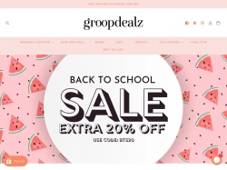 groopdealz promo code and other discount voucher