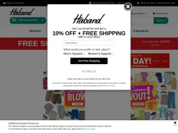 Haband promo code and other discount voucher