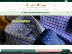 Harvie and Hudson promo code and other discount voucher
