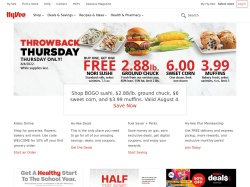 Hy-Vee promo code and other discount voucher