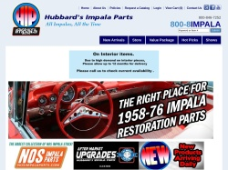 Hubbard's Impala Parts promo code and other discount voucher