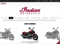 Indian Motorcycle promo code and other discount voucher