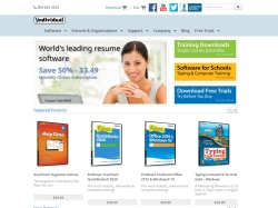 Individual Software promo code and other discount voucher