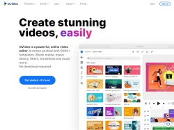 InVideo promo code and other discount voucher