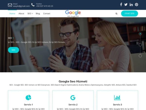 iyiseo.info website Скриншот En iyi SEO » En iyi SEO Uzmanı » En iyi SEO Firması