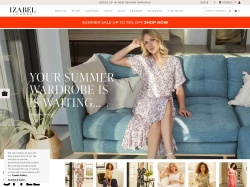 Izabel London promo code and other discount voucher