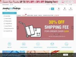 JewelryAndFindings promo code and other discount voucher