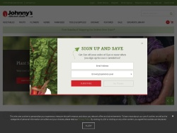 Johnny's Selected Seeds promo code and other discount voucher