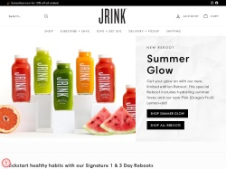 Jrink promo code and other discount voucher
