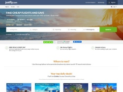 JustFly.com promo code and other discount voucher