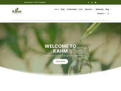 Kahm CBD promo code and other discount voucher