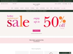 Kate Spade UK promo code and other discount voucher